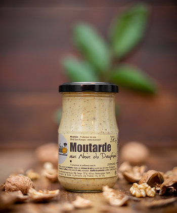 Moutarde aux noix du Dauphiné (210g)