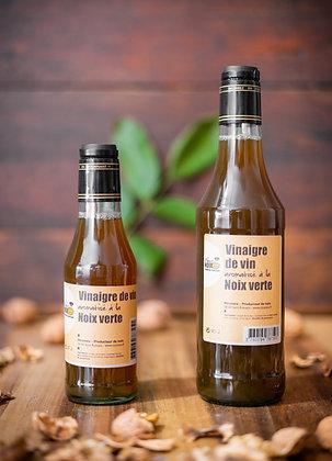 Vinaigre aromatisé à la noix verte