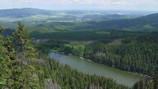Plechý a Plešné jezero