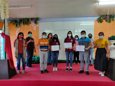 Awarding of Certificates