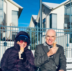 Levee ice creams at Seaport