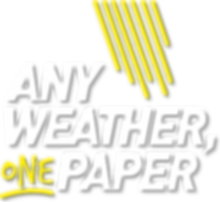 Any Weather One Paper logo