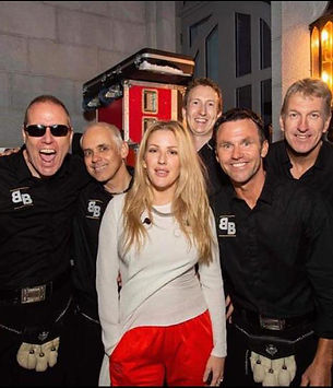 Ellie Goulding Bogus Brothers party band for hire