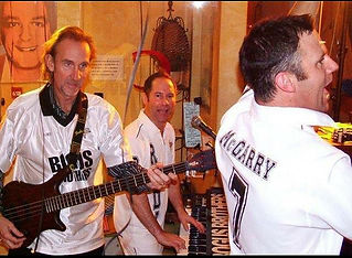 Mike Rutherford Genesis Bogus-Brothers party band for hire