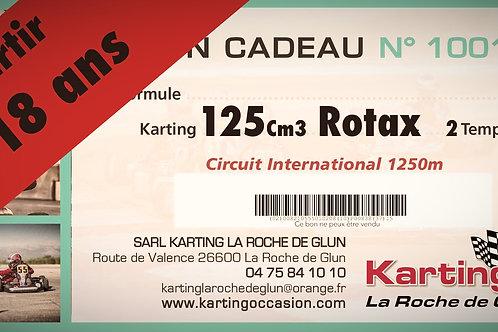 4x10 minutes125cc Rotax max - Circuit 1250m