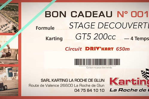 Stage Karting 2H (-16ans)