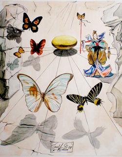 Allegorie de Soie: Dali's Copy