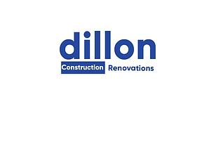 Dillon Contracting logo Gilroy font no l