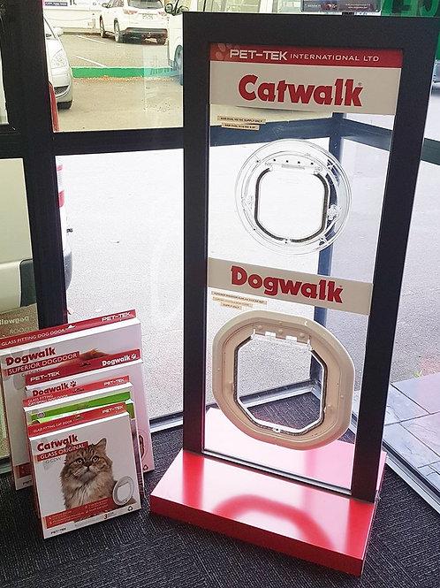Superior Dog Door Glass-Fitting