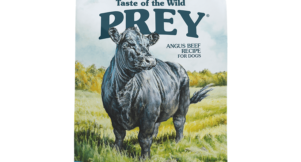 Taste of the Wild - Prey - Angus Beef Formula For Dogs (11.34KG)
