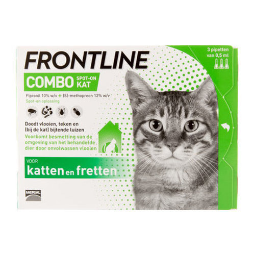 Frontline Combo Cats 3 pipettes 0,5 ml