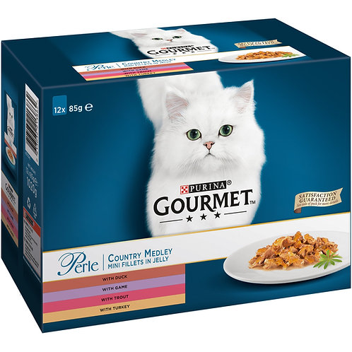 Gourmet by Purina Pack of 12pcs wet food (in Jelly)