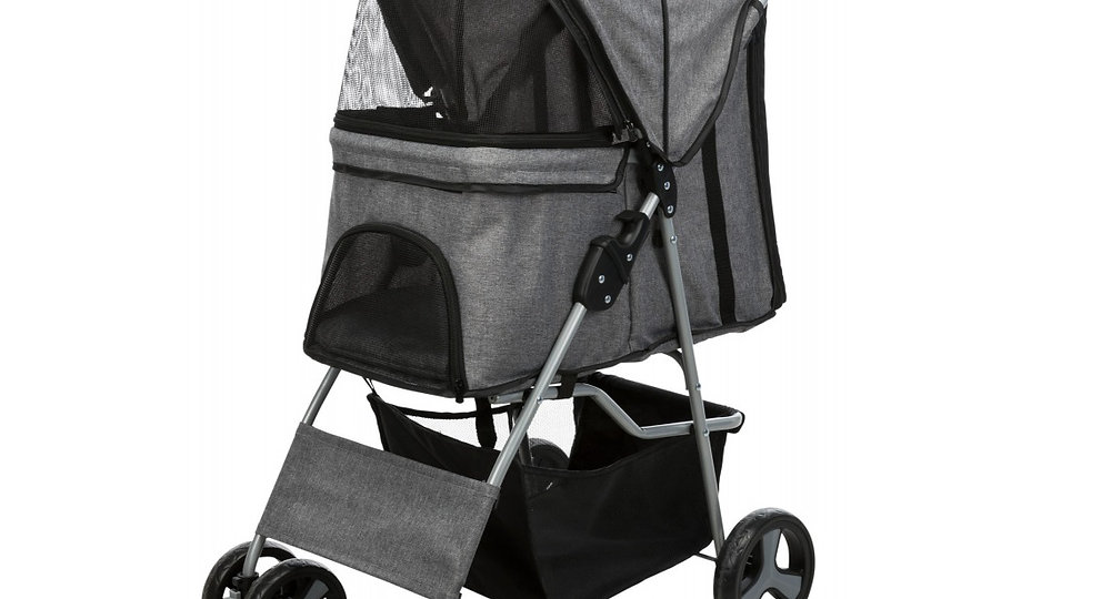 Buggy for Dogs  Grey  quick-fold function