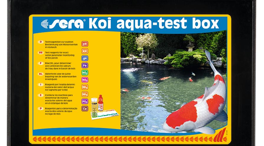 Sera Koi aqua-test box