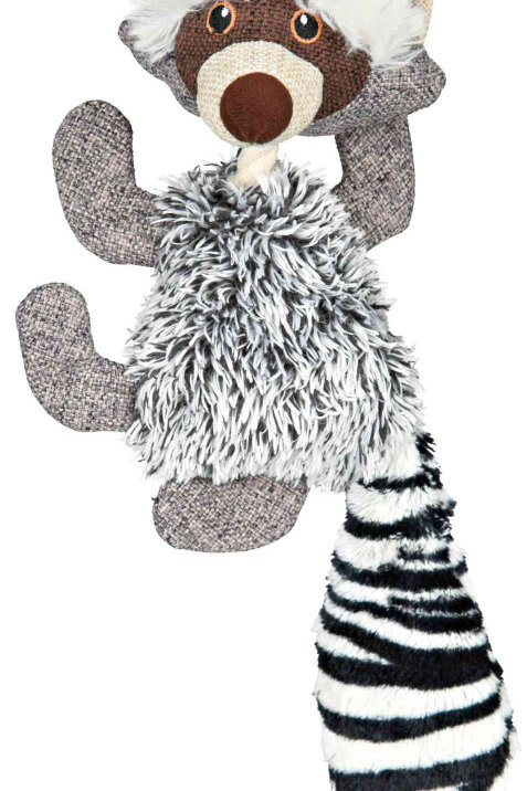 TRIXIE Plush Racoon Toy for Dogs