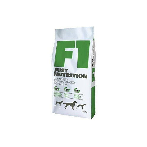 F1 Just Nutrition Meat & Cereals  20kg Breeders Choice
