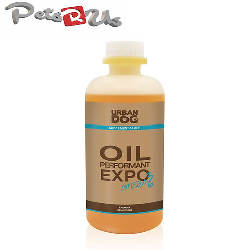 URBAN DOG - Italy Oil Performant Expo OMEGA 3 & 6 Nutritional Supplement for Dog