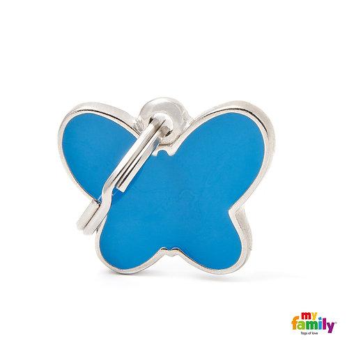 Blue Butterfly       CH13GREEN
