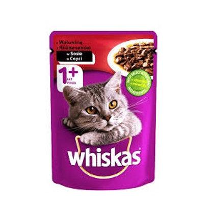 Whiskas  1+Year      ( in Gravy      100g)