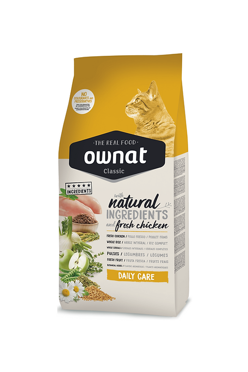 Ownat Cat Daily Care     (Chicken)   4kg
