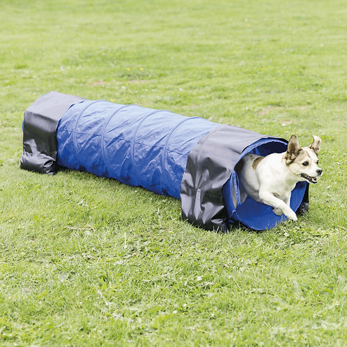 Dog Activity Agility tunnel, diam. 40 cm/2 m, blue