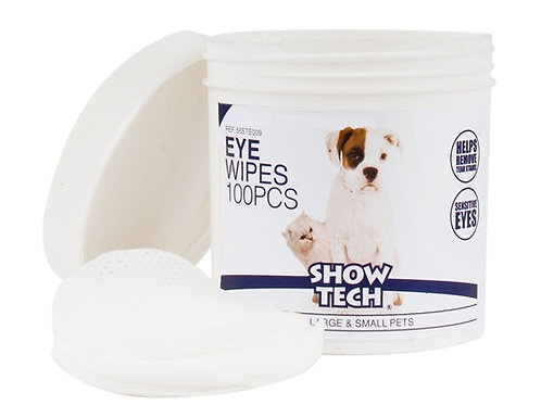 Show Tech Eye Wipes    100pcs For Large and Small Pets