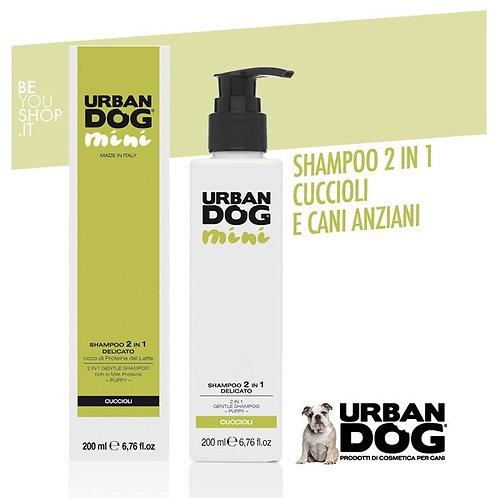 Urban dog shampoo 2 IN 1, 200 ml