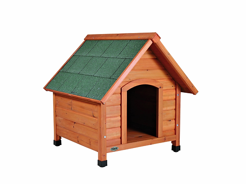 Natura Dog Kennel with saddle roof, (Large) (Pre Order)