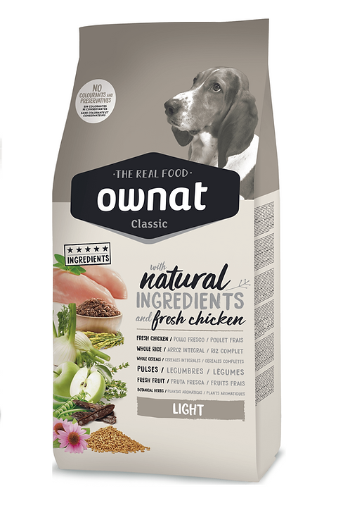 Ownat Classic (Light) size - 20kg (Chicken) (Breeders Choice)