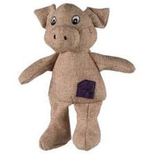 Pig, Fabric, 30cm - Trixie Dog Puppy Toy Pig Fabric