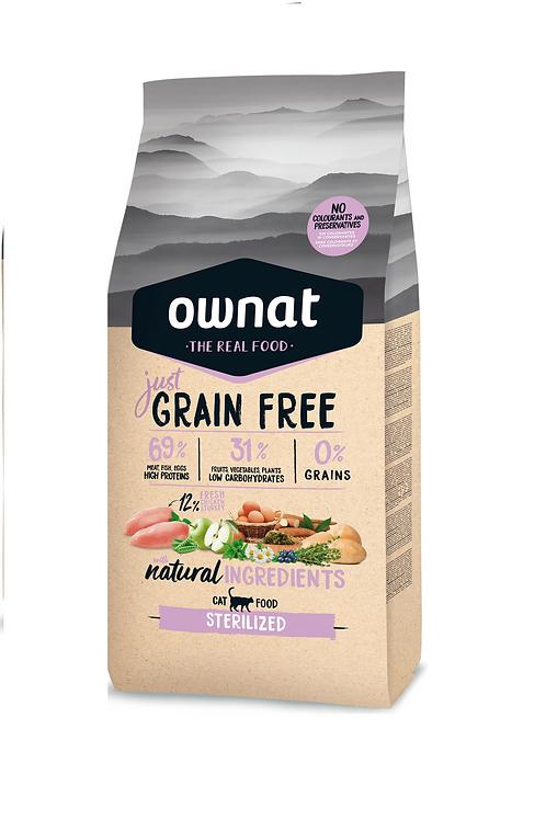 Ownat STERILIZED (Grain Free) (Chicken) 1kg-3kg