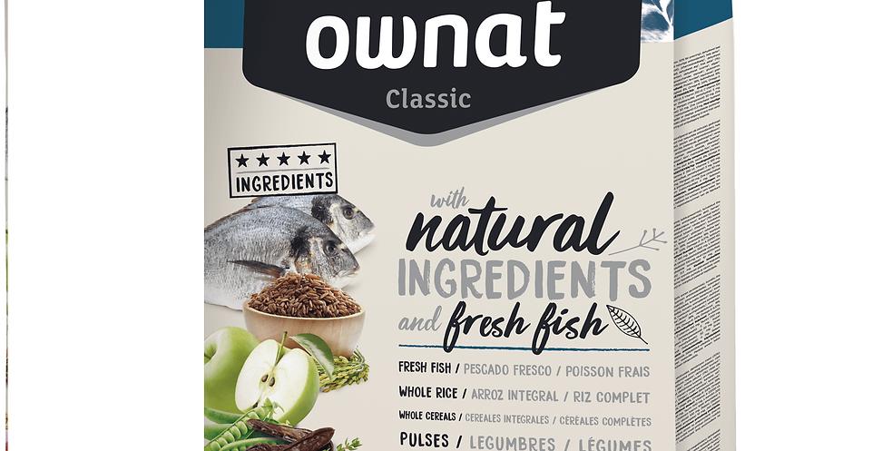Ownat Classic (Fish)    size - 20kg - 4kg      (Breeders Choice)