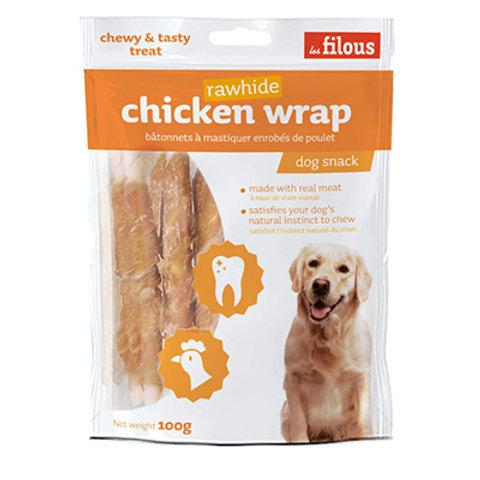 Les Filous Chicken Wrap