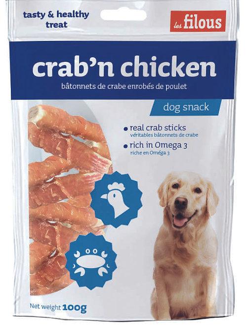 Les Filous Crab 'n' Chicken