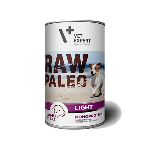RAW PALEO food wet for adult dog - Pack of 6