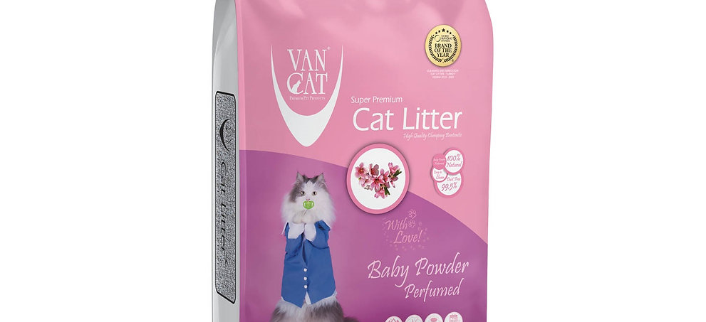 Van Cat Litter   Baby Powder    (5kg and 10kg) (Super Premium)