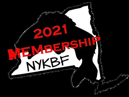 2021 Standard NYKBF Membership