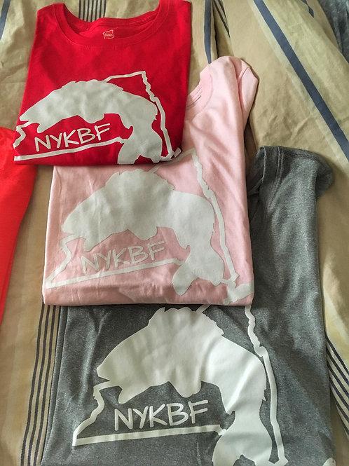 NYKBF Womens T-shirt cotton