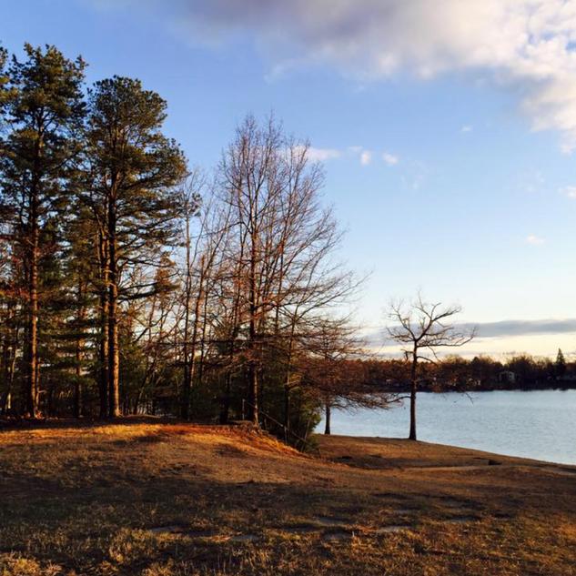 Fall Morning at Lakeview