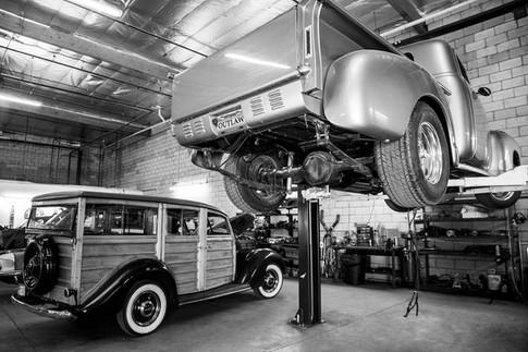classic car photograph