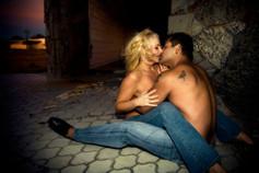 las vegas couple boudoir photography