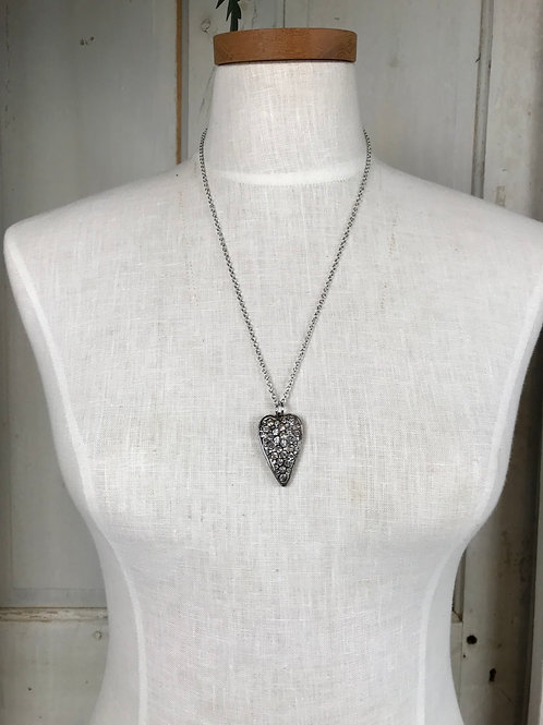 Medium Silver Layering Necklace