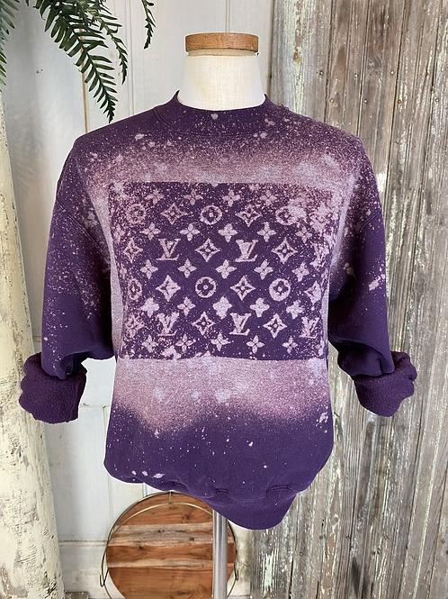 Designer Inspired Bleach Sweatshirt