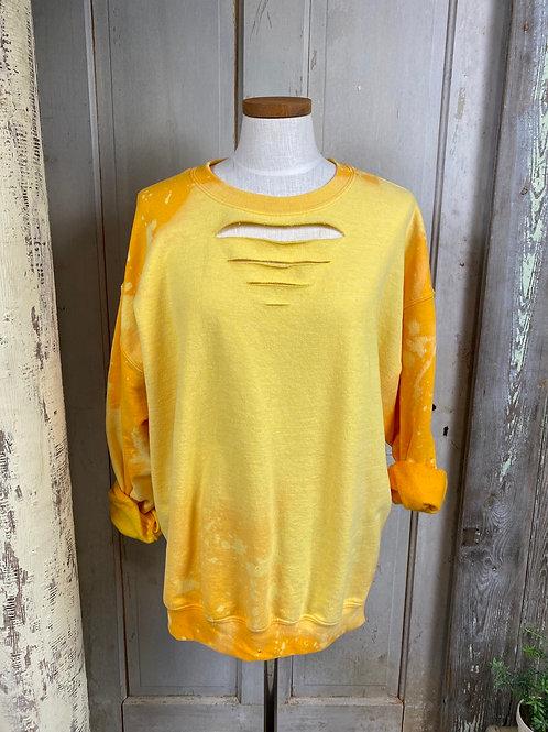 Extra Large Bleached Sweatshirt