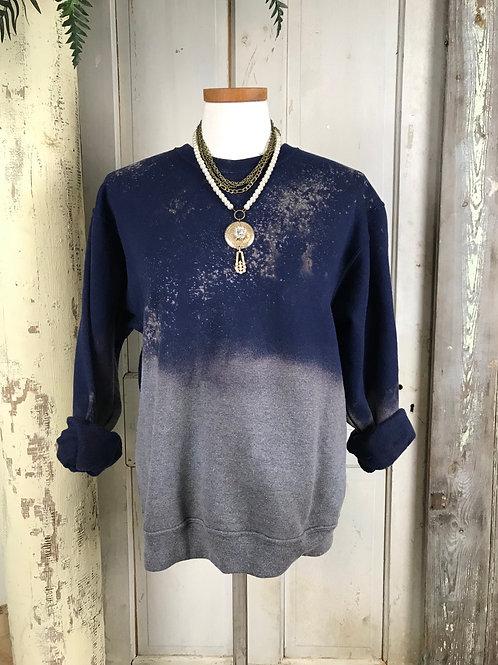 Medium Bleached Sweat Shirt