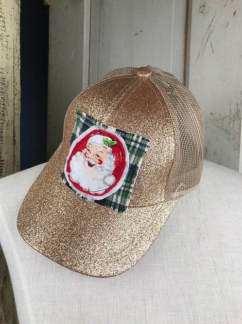 Santa ponytail cap