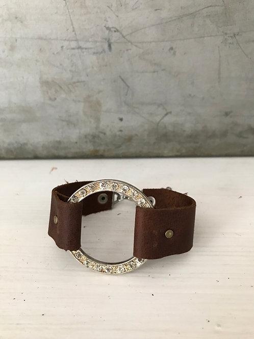 Leather cuff