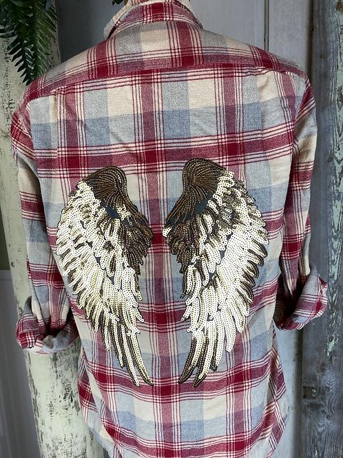Angel Wing Flannel