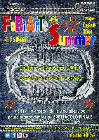 FoRiArTe Summer 2017