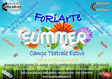 FoRiArTe Summer 2014